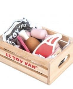 Le Toy Van Market Meat Crate TV189