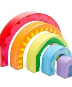 Le Toy Van Rainbow Tunnel PL107