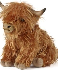 Living Nature Highland Cow Large with Sound AN341
