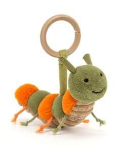 Jellycat Little Christopher Caterpillar Rattle