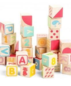 Le Toy Van ABC Wooden Blocks PL101