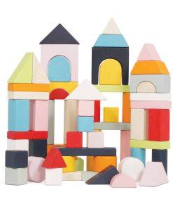 PL135-Building-Blocks-Cotton-Bag-Stacked-Wooden-Buildings