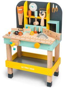 TV475-Alex-Tool-Work-Bench-Saw-Spanner-Hammer-Wooden-Toy-Side