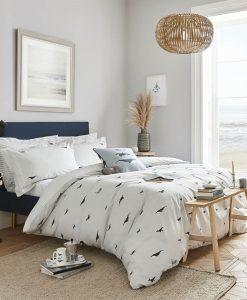 Sophie Allport Whale Seafoam Bedding Set