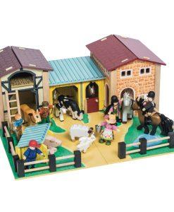 TV410-Farmyard-Farm-Barn-Wooden-Play-Set