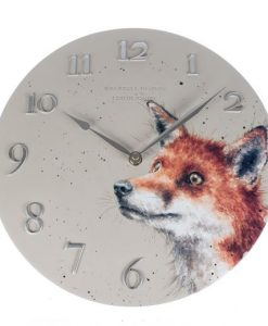 CLK003-fox wrendale wall clock