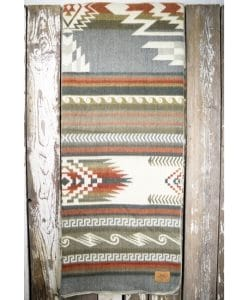 Maskuy Queen Blanket - Mosaic Pebble