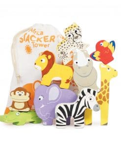 PL117-Africa-Stacker-Cotton-Bag-Stack-and-Tumble-Wooden-Toy