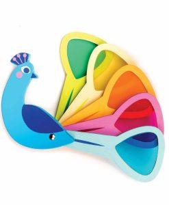 TL8338 Peacock Colours Tender Leaf Toys
