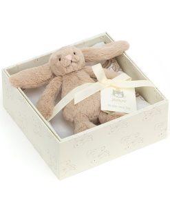 Jellycat Bashful Beige Bunny Gift Set