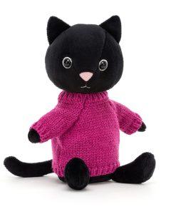 Jellycat Knitten Kitten Fuschia