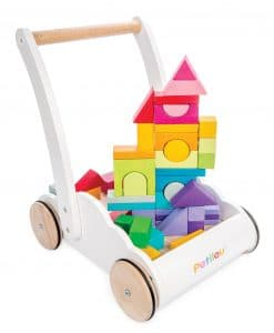 PL102-Rainbow-Cloud-Walker-Wooden-Toddler-Walking-Shapes-Puzzle-Tower