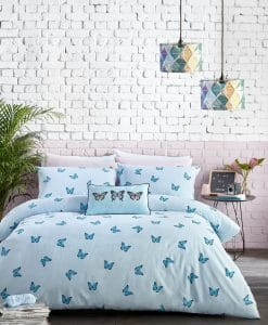 Skinny Dip Butterfly Bedding Blue