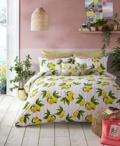 Skinny Dip Summer Lemon Bedding