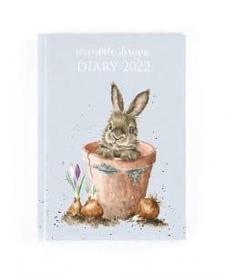 D2022 Wrendale A5 Desk Diary 2022