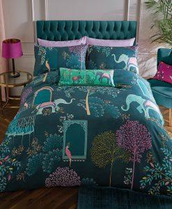 Sara Miller Elephants Oasis Bedset