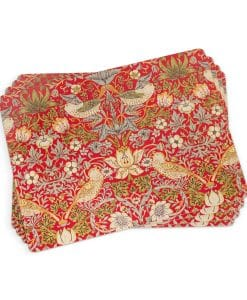 Morris__Co_Strawberry_Thief_Red_Placemat_1