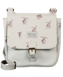 BGS001 leaping hare satchel from wrendale designs
