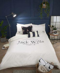 Jack Wills Distressed Logo Duvet Set