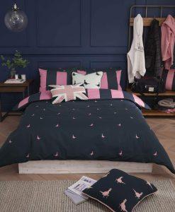 Jack Wills Heritage Stripe Navy Pink