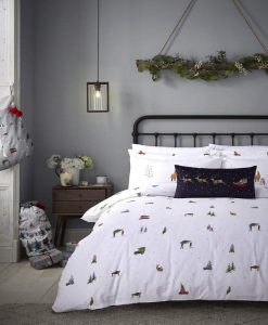 Sophie Allport Home for Christmas Bedset 1