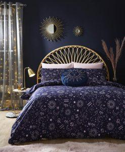 Skinny Dip Zodiac Midnight Blue Bedset